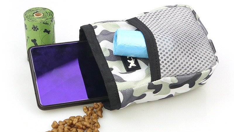 Outdoor Pet Dog Treat Pouch Bag