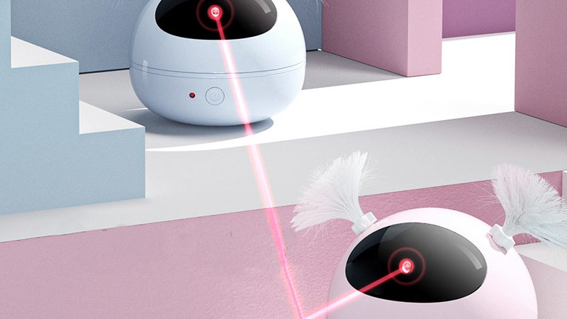Cat Interactive Toy  Laser