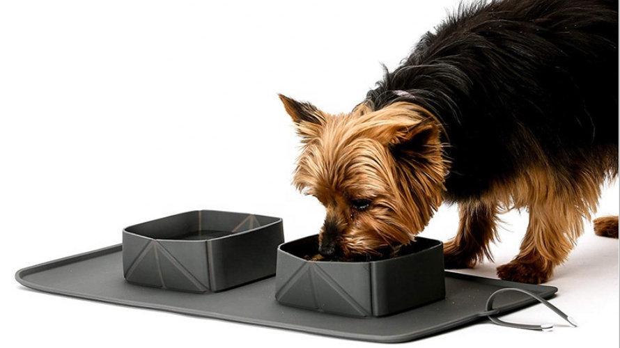 Outdoor Pet Feeding Mat: Silicone, Waterproof, Anti-Slip