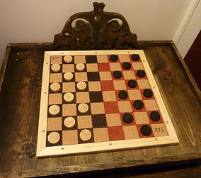Handmade Chess Checkers Boards