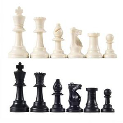 Heavy Tournament Triple Weighted Chess Pieces