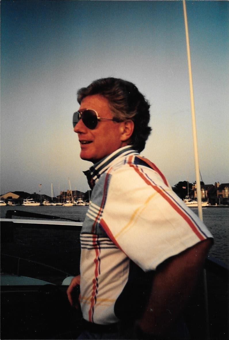Linwood loved boating!