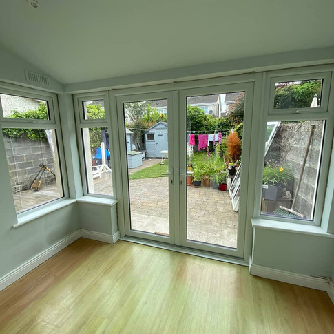 White French doors in Ratoath