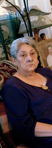 Aurelia Cantu, inmate's mother
