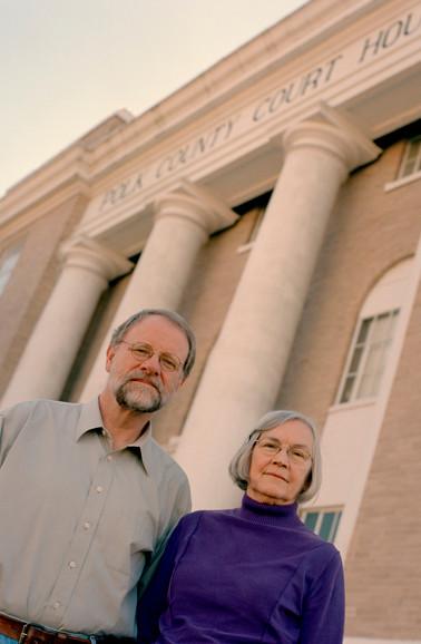 Mandy Welch and Richard Burr, defense attorneys