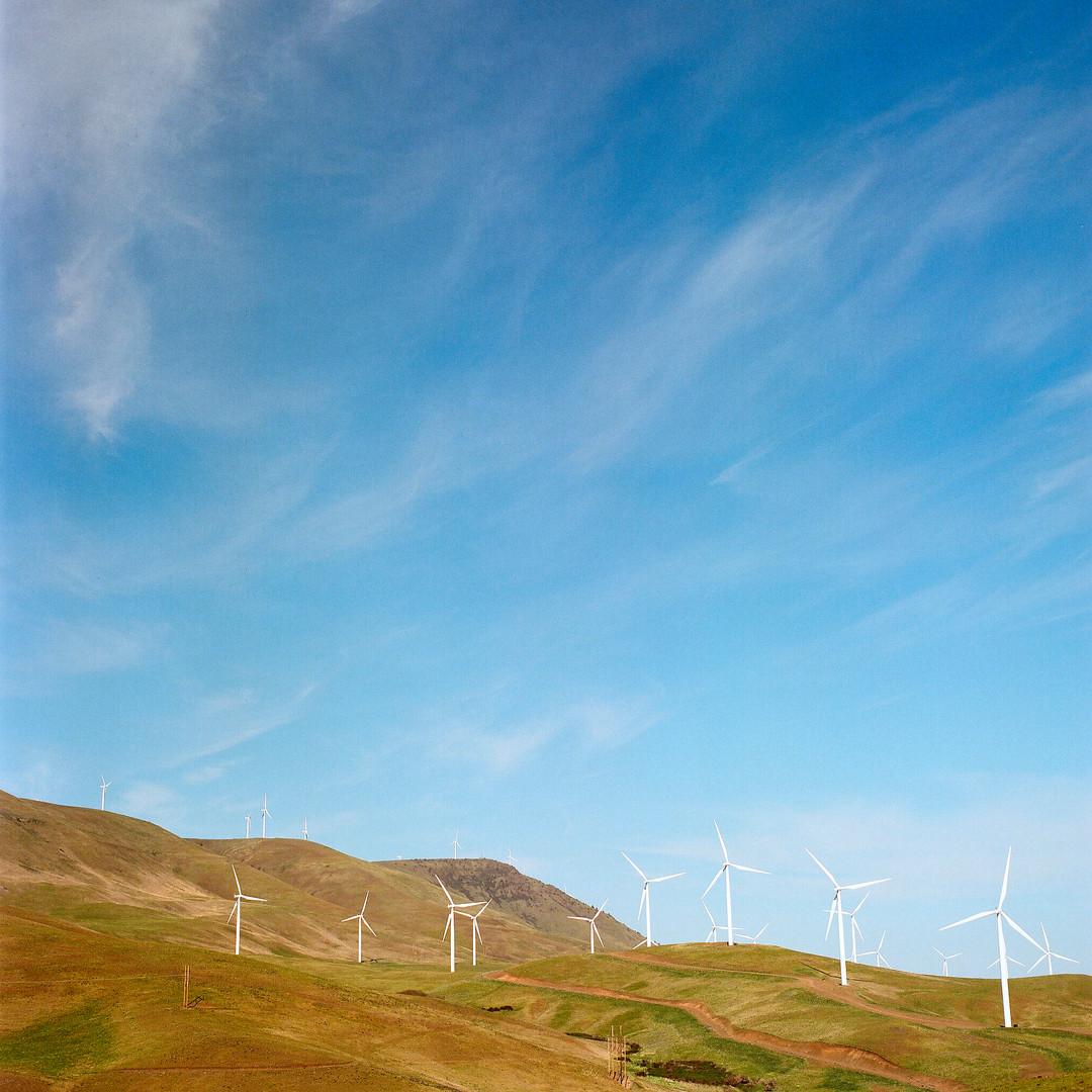 Wind farm, Eastern Washington