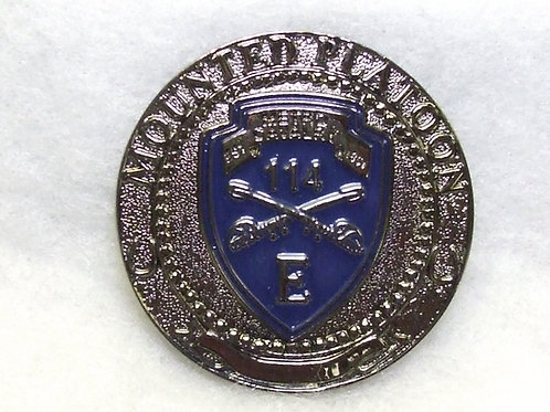 Mounted Platoon Challenge Coin