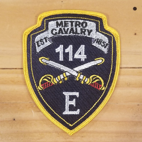 Metro Cavalry Patch