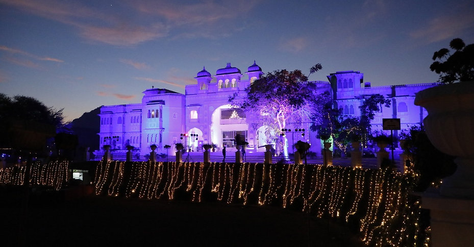 Wedding venue in Udaipur