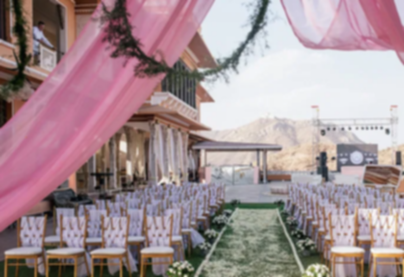 Cost of wedding at Fatehgarh Palace, Udaipur