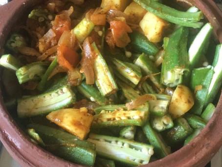 Nutrient benefits of okra aloo