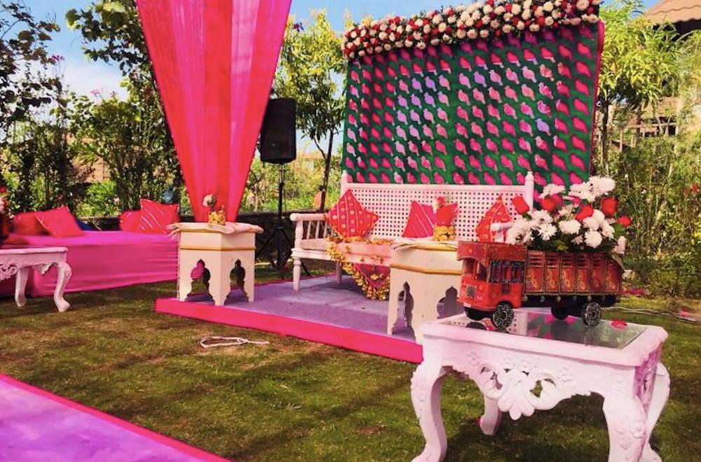 Resort wedding in Udaipur
