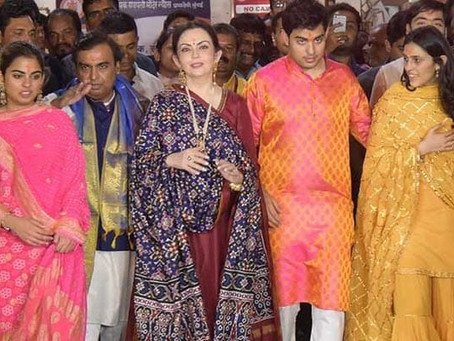 Ambani family has selected this city for wedding of son Akash