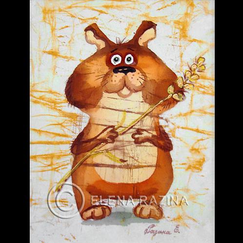 Der Anrufbeantworter des Hamsters