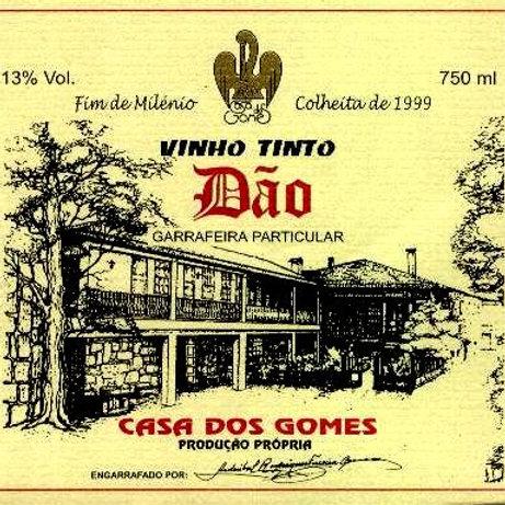 Vinho Colheita Casa dos Gomes
