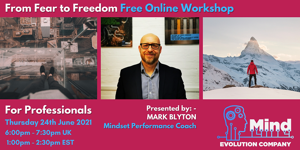 From Fear to Freedom (FREE Online Workshop)