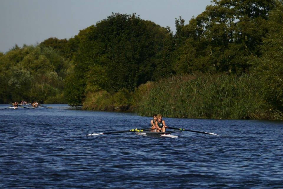 pair sculling