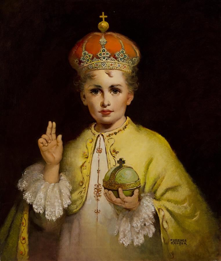 CHRIST CHILD OF PRAGUE RESTORED
