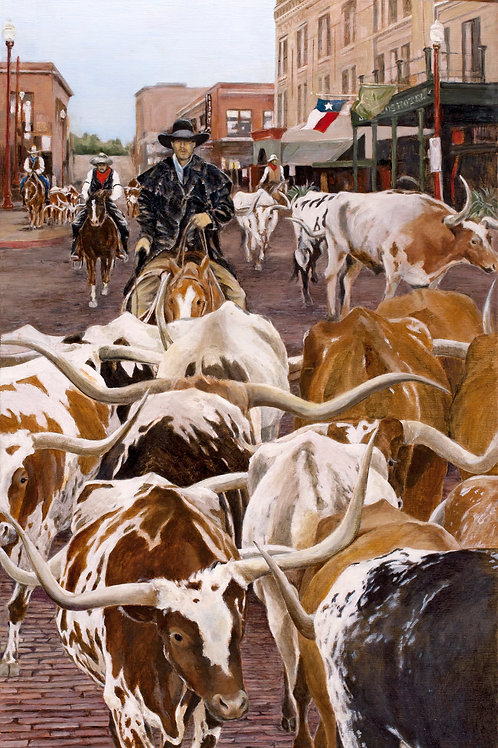 Fort Worth Heritage - Limited Edition Print in an issue of 20