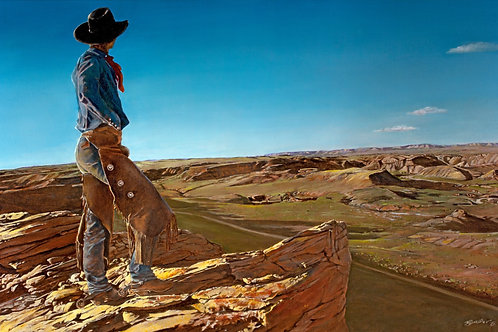 Cowboy Heaven - Limited Edition Print in an Issue of 25