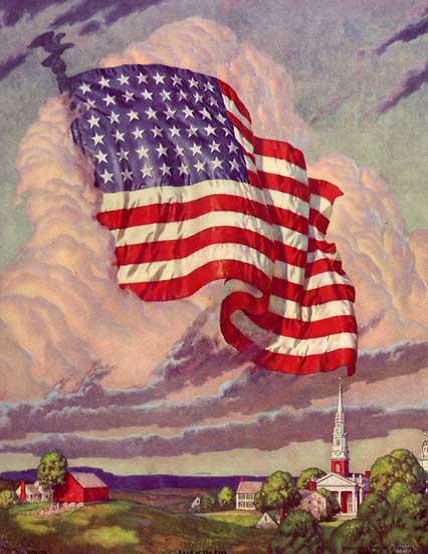 Land of the Free by American Artist, Walter Beach Humphry