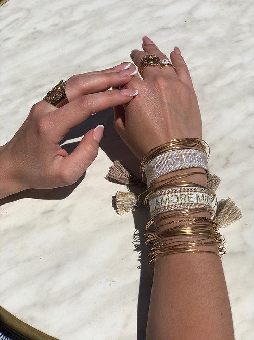 Bracelet ALMA - brodé à personnaliser