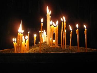 Подойду к образам, зажгу свечу...