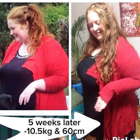 Infinite Health Practice | Karina Francois | 10.5kg down