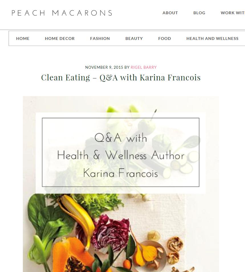 Q & A Karina Francois