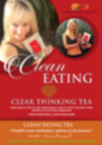 Infinite Health Practice | Karina Francois, clean eatig tea clean thinking tea
