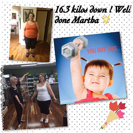 Infinite Health Practice | Karina Francois | 16.3kg down