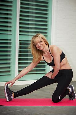 Infinite Health Practice   Karina Francois stretching