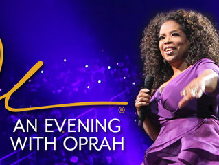 Here's what I learnt on my special night with Oprah!