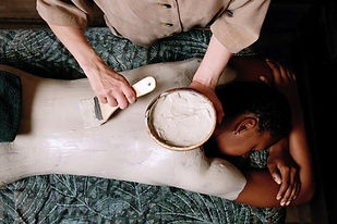 Infinite Health Practice | Karina Francois | organc coco cream wrap
