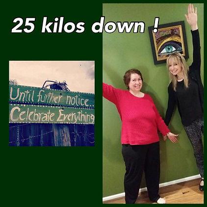 Infinite Health Practice | Karina Francois | 25kg down