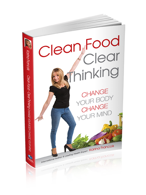 Clean Food & Clear Thinking Book-first edition on sale til Friday 15 July