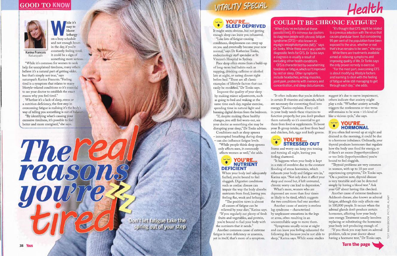 Yours Magazine 13.10.16
