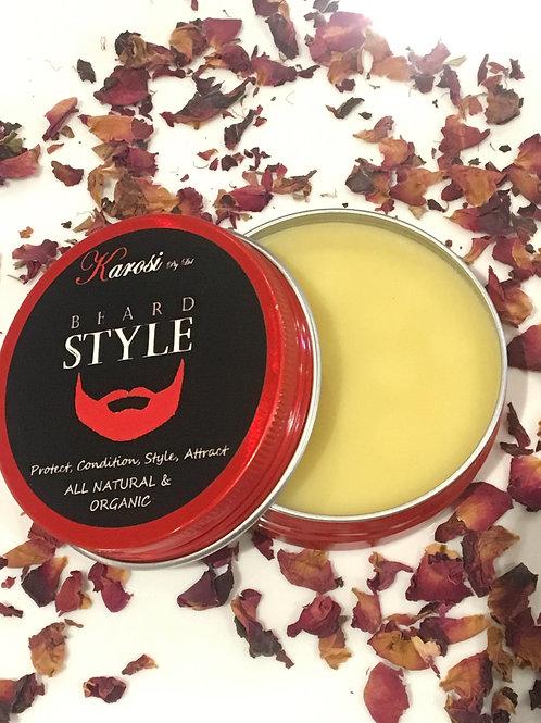 Beard style -Beard styling balm