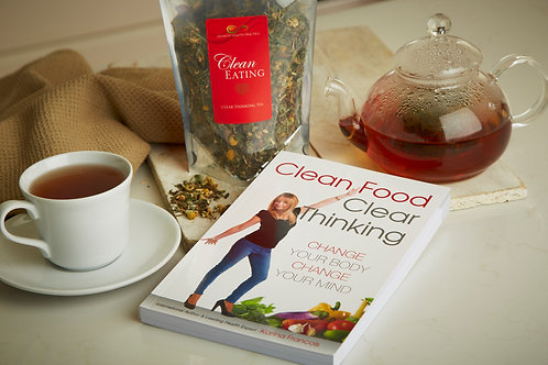 Clean Eating Tea & Clean Food/Clear Thinking Book
