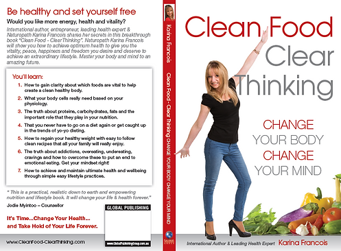 Infinite Health Practice | Karina Francois | Clean food Clear thinking book