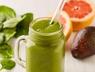 Basic Greens & Grapefruit Smoothie