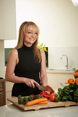 Infinite Health Practice | Karina Francois | Preparing food