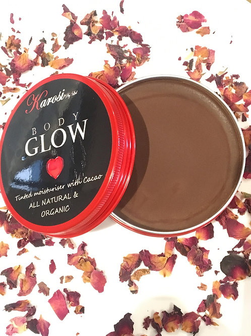 Body Glow - Tinted Moisturiser with Cacao sample/travel 20g