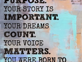 Your own Story....