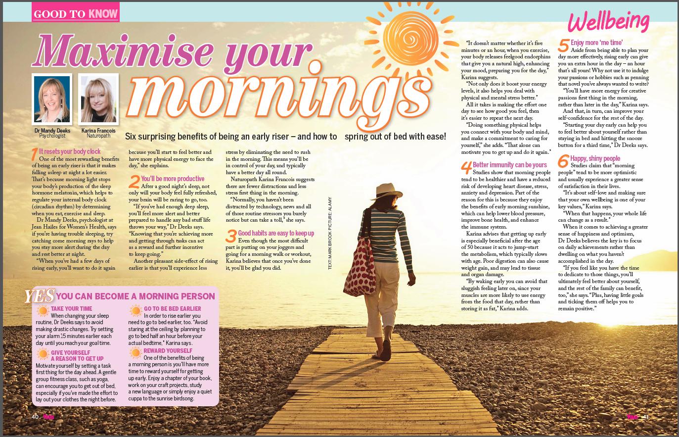 Yours Magazine 15.09.17