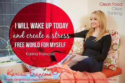Infinite Health Practice | Karina Francois stress free world