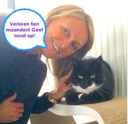 Lost cat found Belgium pet detective