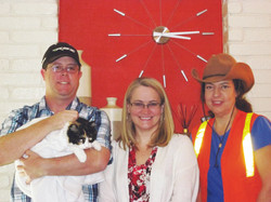 Lost Cat finder w Steve and Mel + Pita