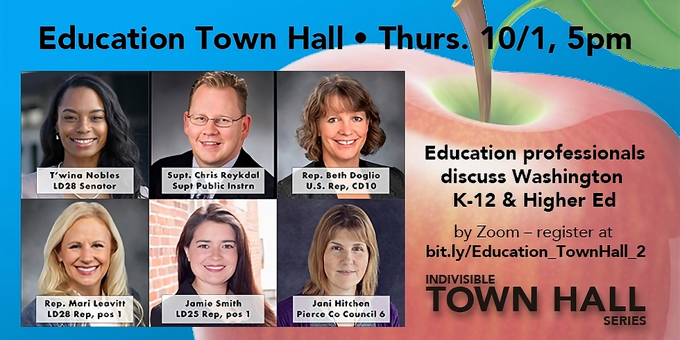 Indivisible Education Town Hall