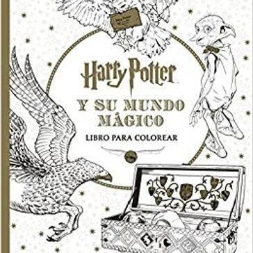 Harry Potter - Su mundo mágico (para pintar)